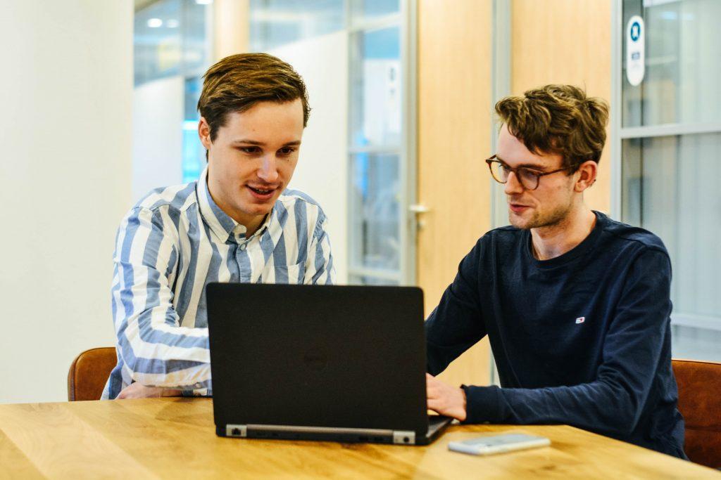 Joep en Boris van WebNexus Webdesign